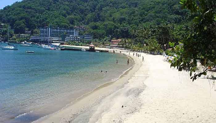 Praia Grande em Angra dos Reis, RJ
