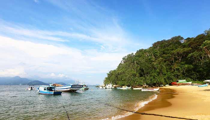 Praia de Japariz Ilha Grande - Angra dos Reis